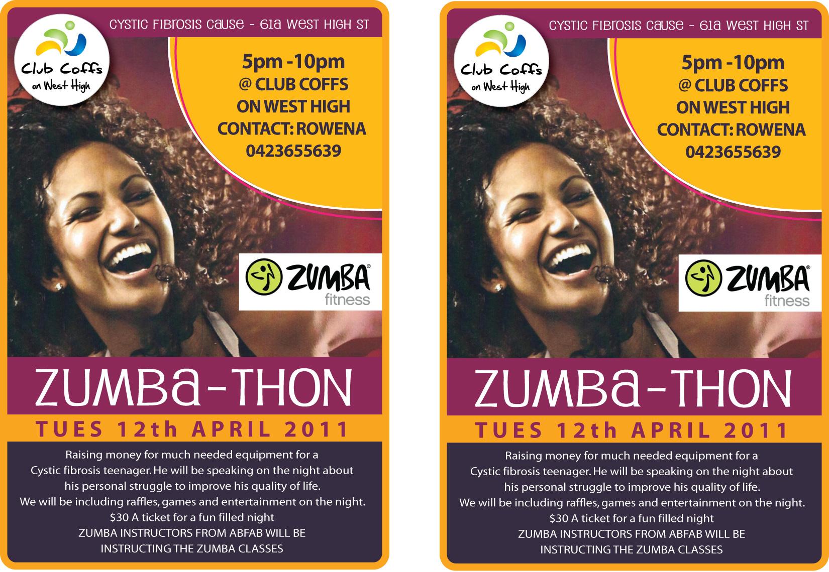 Zumbathon Flyer View a printable A5 flyer hereZumbathon Flyer